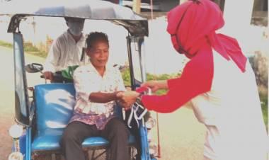 Cegah Penyebaran Virus Covid-19, Kadis Asra Murad : Pengunjung TPI Tilamuta Harus Menggunakan Masker