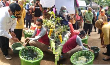 """""""Covid 19"""" Gubernur Gorontalo Ajak Warga Memanfaatkan Pekarangan Rumah Dalam Berkebun"""