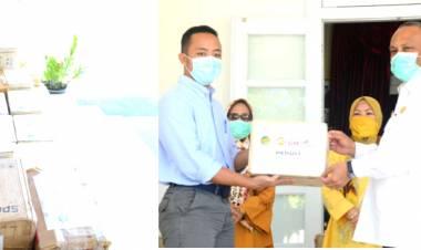 Gubernur Gorontalo : Terima Kasih Banyak Pak Aburizal Bakrie Atas Bantuannya