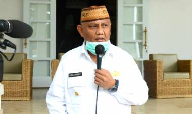 Perwakilan FSPMI Gorontalo : Terima Kasih Pak Gubernur Rusli Habibie