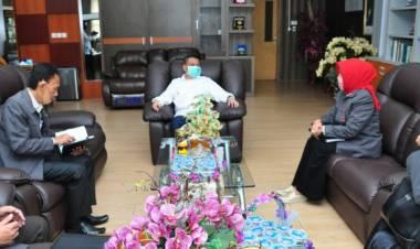 Wagub Idris Rahim Menerima Kunjungan Ketua FKPT Provinsi Gorontalo