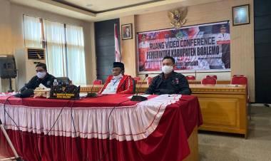 Ikuti Rakornas PDI- Perjuangan, Bupati Darwis Sampaikan Ini!