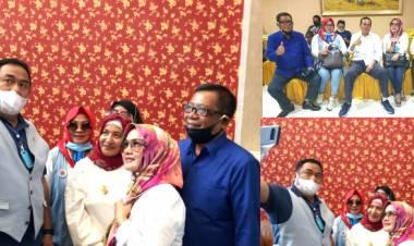 Difasilitasi Rustam Akili, DPD-REI Gorontalo Yang Dipimpin Kristina Basowan Diundang Rahcmat Gobel