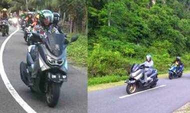 Demi Cintanya Terhadap Daerah, Nelson Pomalingo Terus Promosikan Wisata Gorontalo