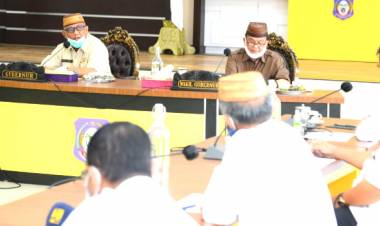 """""""Solusi Banjir"""" Waduk Bone Ulu, Gubernur Gorontalo : Rakyat Bersama Pemerintah Mengharapkan Dukungan Pak Suharso Monoarfa"""