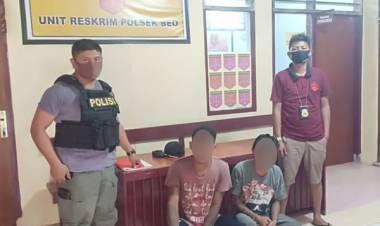 Polisi Amankan Dua Tersangka Penganiayaan di Beo, Talaud
