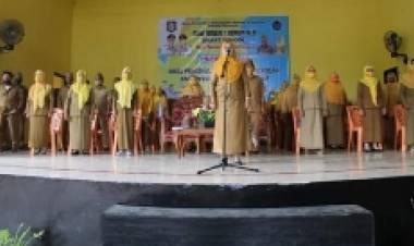 Mengacu Protokol Kesehatan, SMA I Kota Gorontalo Gelar Pembukaaan MPLS Dengan Semi Daring