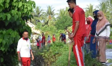Peduli Lingkungan, Pemkab Boalemo Lakukan Kerja Bakti Sosial Di Desa Mohungo