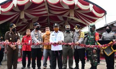 Bupati Darwis Launching KTN Di Desa Tenilo