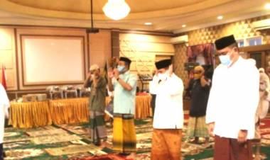 Wagub Gorontalo Menjadi Khatib Pada Pelaksanaan Sholat Idul Adha