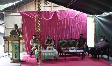 Wabup Anas Jusuf Resmikan Rumah Layak Huni Di Desa Tutulo