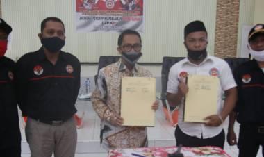Resmi Dilantik DPD JPKP, Di Minta Bupati Gorontalo Lakukan Pengawasan Yang Baik Demi Pembagunan