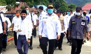Bersama Gubernur Gorontalo, Nelson Sambangi Warga Bilato Dampak Banjir