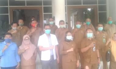 56 Pejabat Di Kabupaten Gorontalo Dipimpin Sekretaris Daerah Ucapkan Rasa Syukur