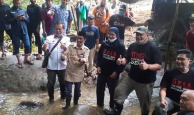 Kunjungi Desa Tamaila Utara Tepatnya Di Dusun Tumba, Nelson Pomalingo Puji Semangat Masyarakat