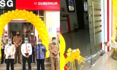 Sekdaprov Gorontalo Resmikan Kantor Kas Pembantu BSG
