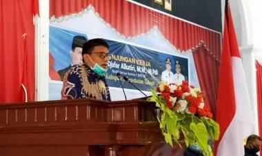 Bahas RUU Kepulauan dan Daerah Perbatasan , Alkatiri : Kabupaten Kepulauan Talaud Adalah Salah Satu Prioritas