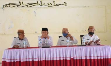 Anas Jusuf Lepas Peserta Kafilah Kabupaten Boalemo Mengikuti MTQ Tingkat Provinsi