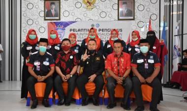 Wabup Anas Jusuf Lantik Komunitas Persaudaraan Operator