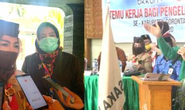 Prof. Nelson Pomalingo Buka Temu Kerja Program Genre Tingkat Kabupaten/Kota