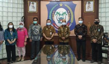 Perkembangan IT Kepegawaian Pemprov Gorontalo Mendapat Apresiasi Kakanreg XI BKN