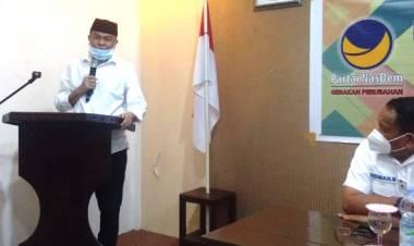 DPD Partai NasDem Kabgor Yang Dinahkodai Dr. Rustam Akili, Gelar Profiling Dan In House