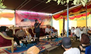 Setahun Deprov Periode 2019-2024 Mengabdi, Gelar Interaktif Menyapa Rakyat di Desa Ulanta