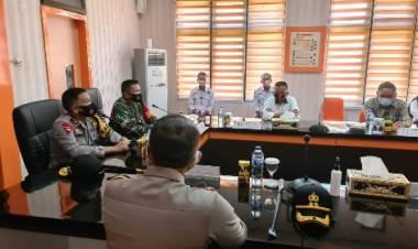 Kunker Ke KPU dan Bawaslu Kabgor, Kapolda Gorontalo dan Danrem Siap Jamin Keamanan Pilkada