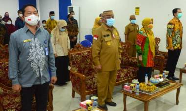 Gubernur Gorontalo : Terimah Kasih Pada Pejabat Lama Balai POM Gorontalo