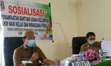 Pjs Bupati Gorontalo Himbau Bantuan UMKM Tidak Dicederai