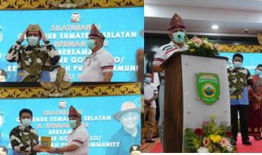 Rusli Habibie Promosikan Wisata Daerah, Gubernur Sumsel : Kami Akan Berkujung Ke Gorontalo