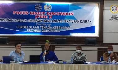 Adnan Entengo: Tenaga Kesehatan di Provinsi Gorontalo Butuh Payung Hukum