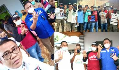Gunawan Targetkan Kemenangan Rustam-Dicky 52 % Kecamatan Boliyohuto