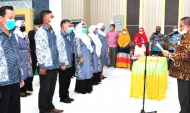 DPD FTPKN Masa Bakti 2020 - 2025 Dilantik Wagub Gorontalo
