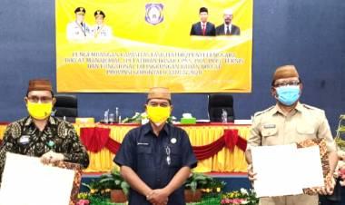 Sekdaprov Gorontalo Apresiasi Pada Badan Diklat Dalam Melakukan Trobosan Baru