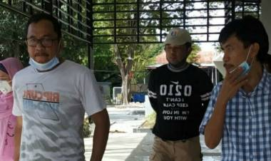 Pemerintah Kabgor  Optimis Pembangunan Gedung Food Court Rampung Akhir Tahun