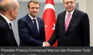 Macron Masalah Bagi Perancis, Presiden Turki : Berharap Cepat Lengser
