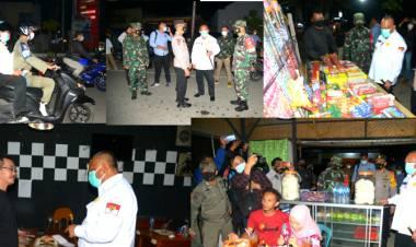 Gubernur Gorontalo Bersama Kapolda dan Danrem 133 Lakukan Razia Malam Tahun Baru