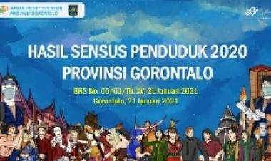 BPS Gorontalo: Jumlah Penduduk Gorontalo Capai 1,17 Juta Jiwa