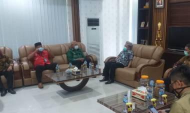 Anas Terima Kunjungan Kemenkumham Provinsi Gorontalo.