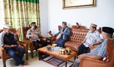 NU Kota Gorontalo Terima Kunjungan Kapolres, Muchlis : Pererat Silaturrahim dan Bangun Sinergitas