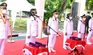Tiga Bupati/Wabup Dilantik Gubernur Gorontalo