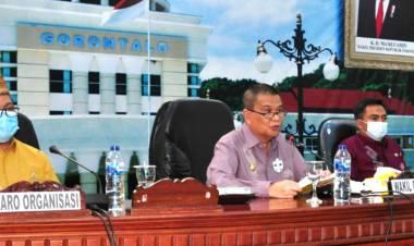 Ekspos Kajian Penyesuaian Kelembagaan OPD Dibuka Wagub Gorontalo