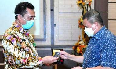 Dirjen Bina Pemdes Disambut Gelar Ramah Tamah Oleh Pemprov Gorontalo