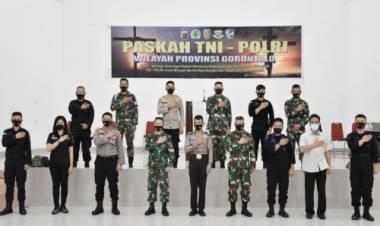 Kapolda Gorontalo dan Danrem 133/NW Pimpin Perayaan Paskah Bersama