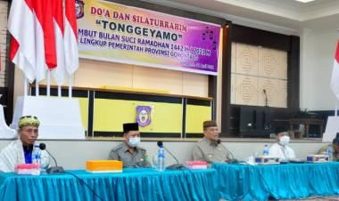 Gelar Adat Tonggeyamo Dilaksanakan di Rudis Gubernur Gorontalo