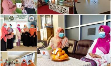 Peringati Hari Kartini dan Hari Bumi, BPKK DPW PKS Prov Gorontalo Silaturahmi ke Tokoh Perempuan