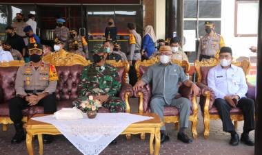"""Wakil Ketua Deprov Gorontalo Hadiri Apel Gelar Pasukan Operasi Kepolisian Terpusat """"Ketupat Otanaha - 2021"""""""