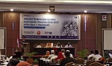 BKKBN Gorontalo Gelar Sosialisasi Pembangunan Keluarga, Penguatan Peran Mitra Kerja dan Stakeholder