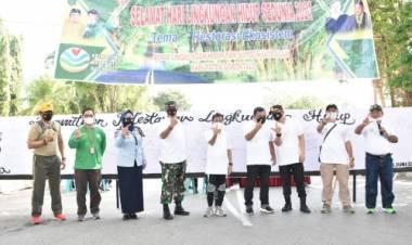Kasiter Korem 133/NW Hadiri Peringatan HLHS 2021 Tingkat Kabupaten Gorontalo